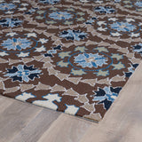 Kaleen Home and Porch 2036-17 Blue Area Rug Close-up Shot