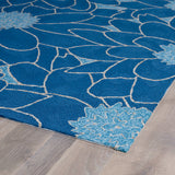 Kaleen Home and Porch 2041-17 Blue Area Rug Close-up Shot