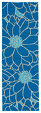 Kaleen Home and Porch 2041-17 Blue Area Rug Runner Shot