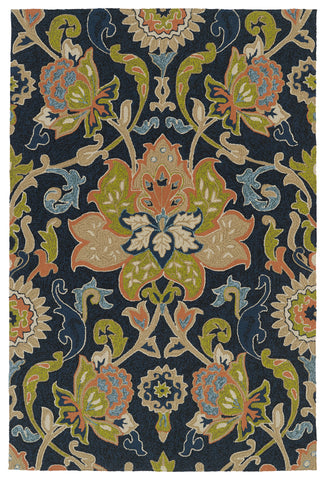 Kaleen Home and Porch 2042-22 Navy Area Rug main image