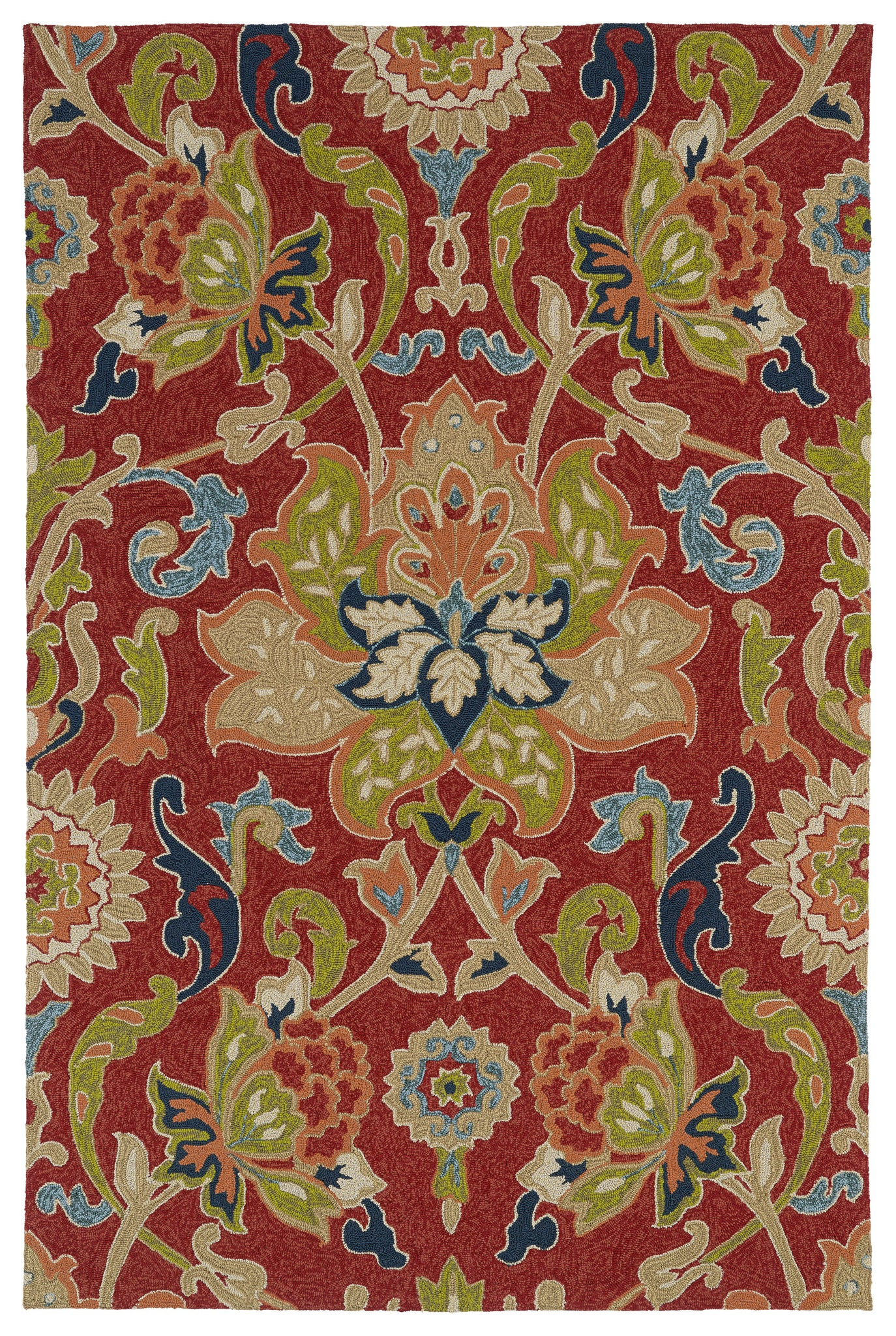 Kaleen Home and Porch 2042-25 Red Area Rug main image