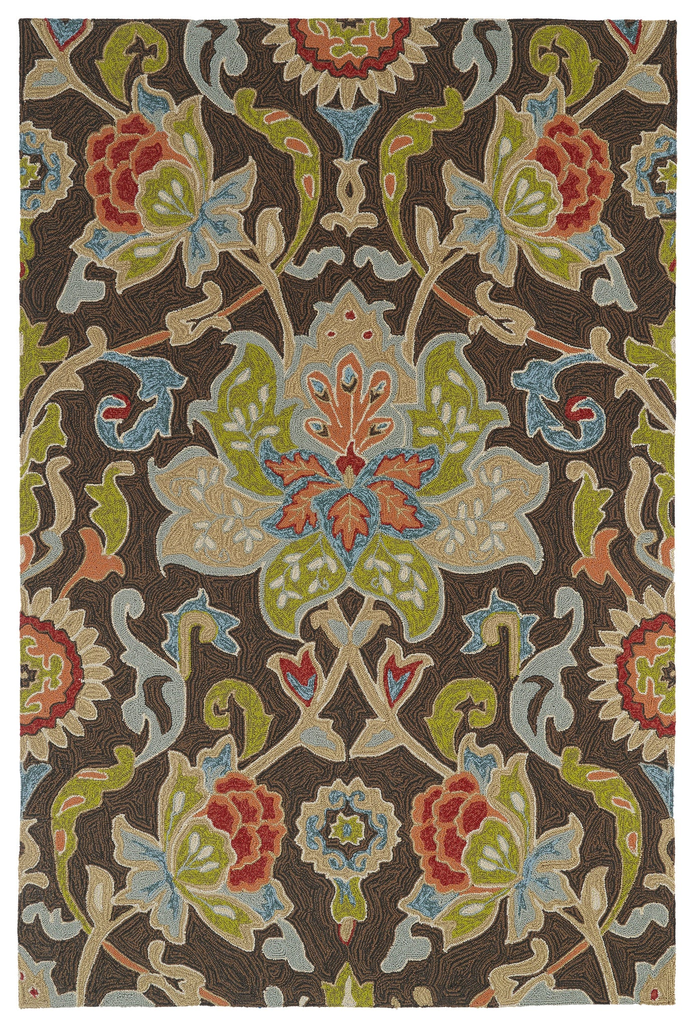 Kaleen Home and Porch 2042-40 Chocolate Area Rug main image