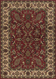 Couristan Anatolia Floral Ispaghan Red/Cream Area Rug