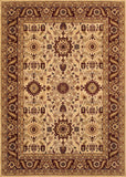 Couristan Anatolia Antique Kashan Cream/Red Area Rug