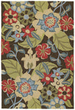 Kaleen Habitat Salty Leaves-02 Mocha Area Rug main image
