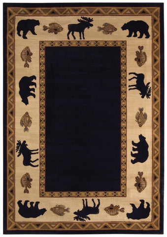 Capel Cottage Grove 2365 Ebony 350 Area Rug main image