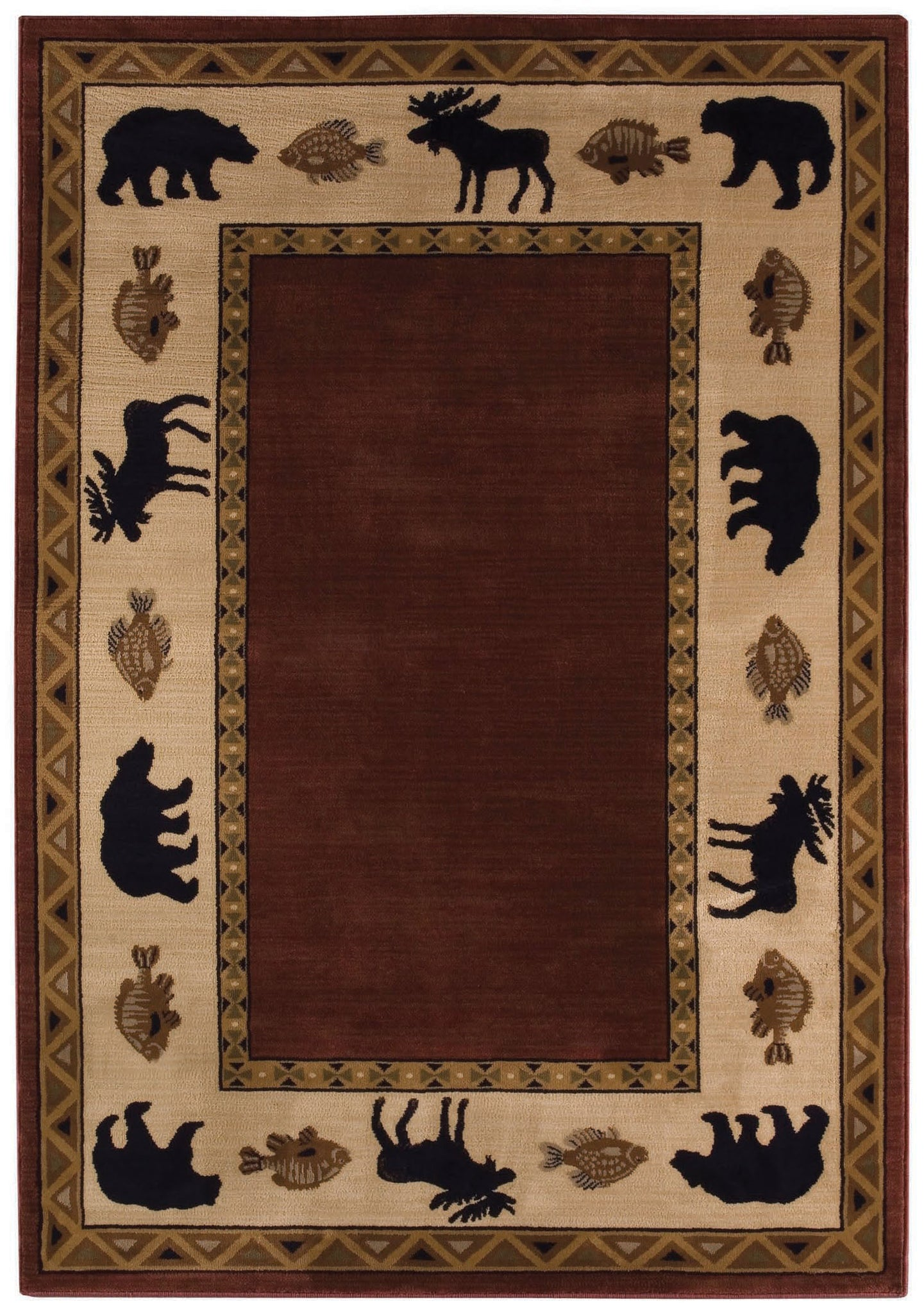 Capel Cottage Grove 2365 Wine 500 Area Rug main image