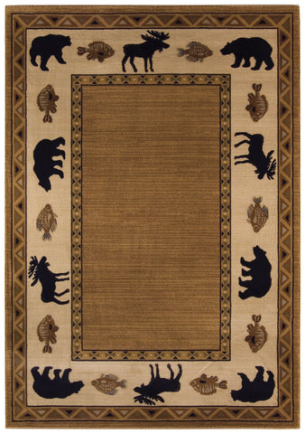 Capel Cottage Grove 2365 Medium Brown 750 Area Rug main image