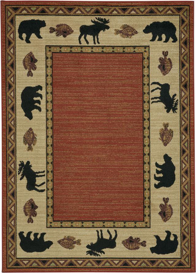 Capel Cottage Grove 2365 Persimmon Area Rug main image