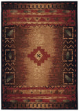 Capel Badin 2366 Coffee Multi 750 Area Rug main image