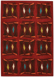 Capel Greenwich Bongos 2451 Sunset Red 550 Area Rug main image