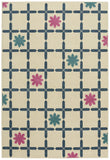 Capel Aster Flores 2470 Blue 450 Area Rug by Genevieve Gorder main image