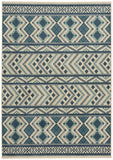 Capel Aster Kelim 2471 Blue 440 Area Rug by Genevieve Gorder main image