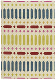 Capel Aster Puerta 2472 Blue Green 425 Area Rug by Genevieve Gorder main image