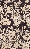 Rug Market America CO Batik Brown Brown/Cream Area 8' 0'' X 10' 0''