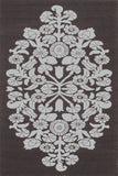 Rug Market America CO Greta Brown/Cream Area 5' 0'' X 8' 0''