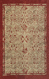 Rug Market America CO Heritage Red Red/Khaki Area 7' 5'' X 9' 5''