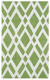 Rug Market America CO Terrene Green/Cream Area 5' 0'' X 8' 0''