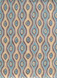 Rug Market America CO Nazar Brown Brown/Blue/Yellow Area 7' 6'' X 9' 6''