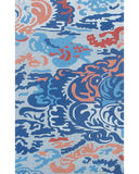 Rug Market America CO Niigata Blue Blue/Copper Area main image
