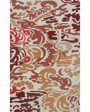 Rug Market America CO Niigata Red Red/Tan/Copper Area 5' 0'' X 8' 0''