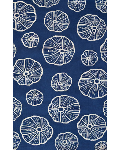 Rug Market America Resort Jellyfish Blue/White Area main image