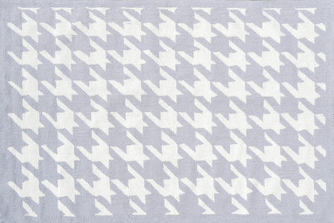 Rug Market America TD Houndstooth Lt'Gray LtGray/White Area main image