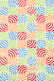 Rug Market America Resort Circle Squared White/Multi Area main image