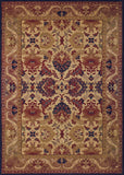 Couristan Anatolia Royal Plume Navy/Port Area Rug