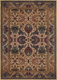 Couristan Anatolia Royal Plume Cream/Plum Area Rug