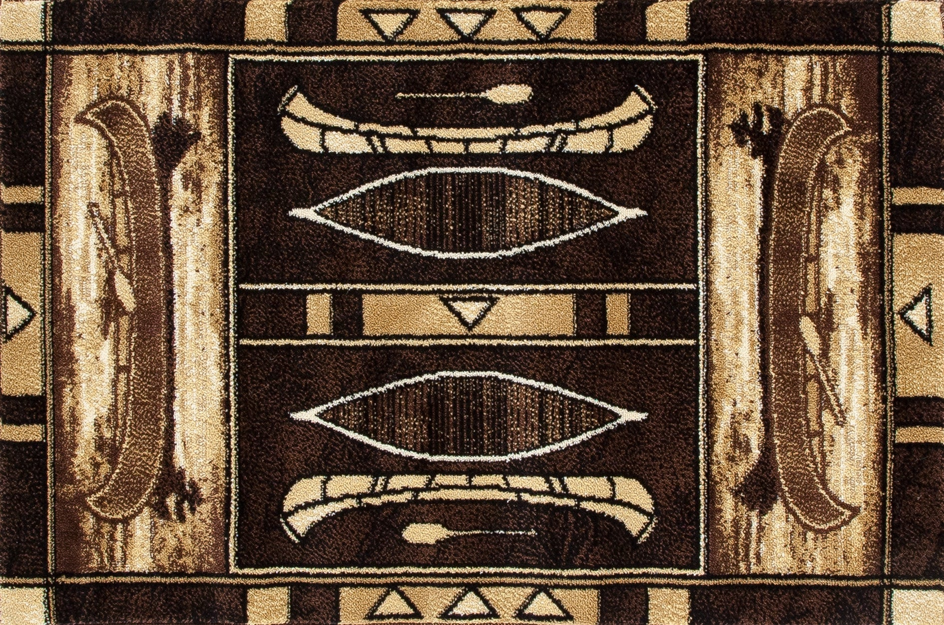 Art Carpet Hearth 2726 Black Area Rug main image