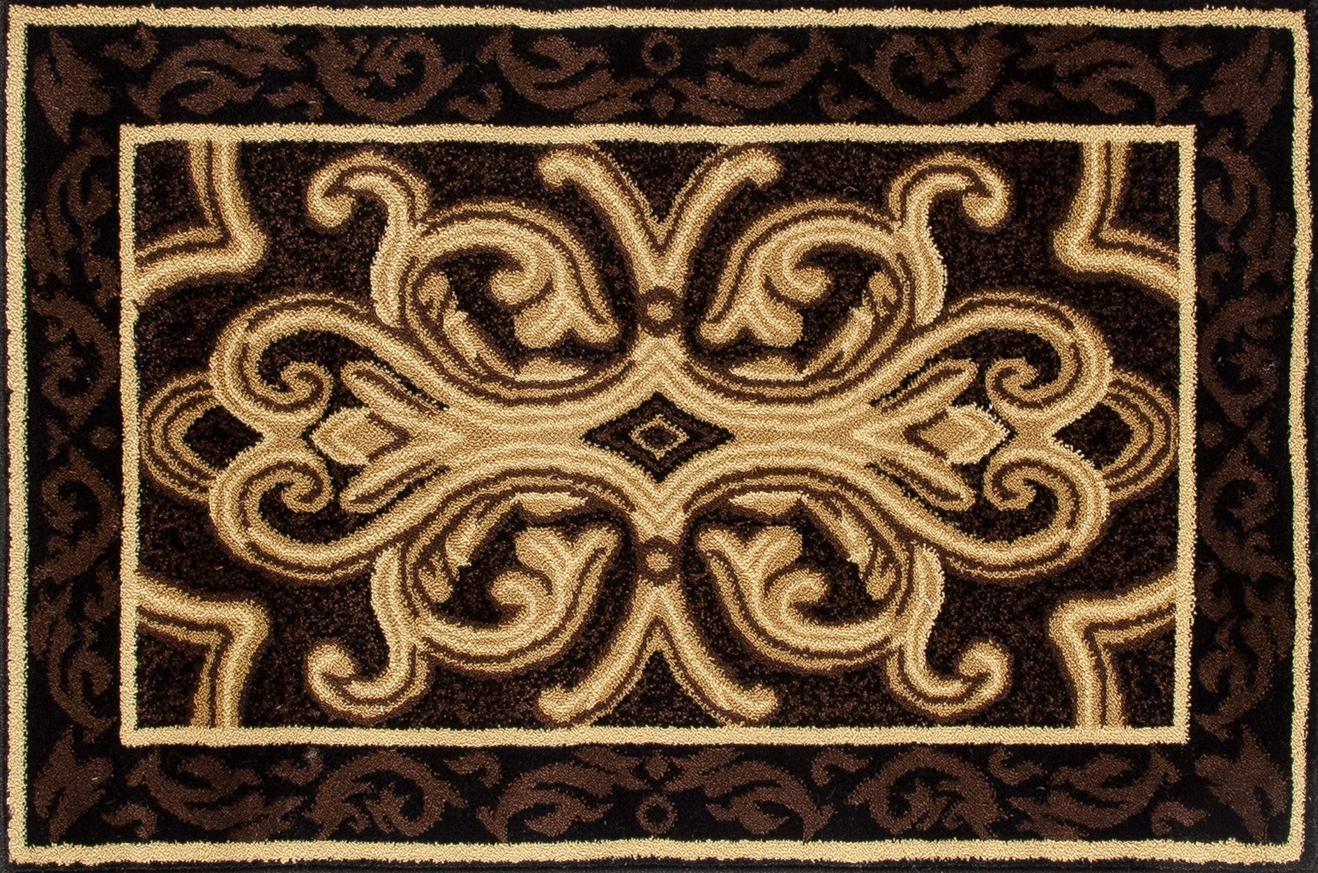Art Carpet Hearth 2804 Black/Brown Area Rug main image