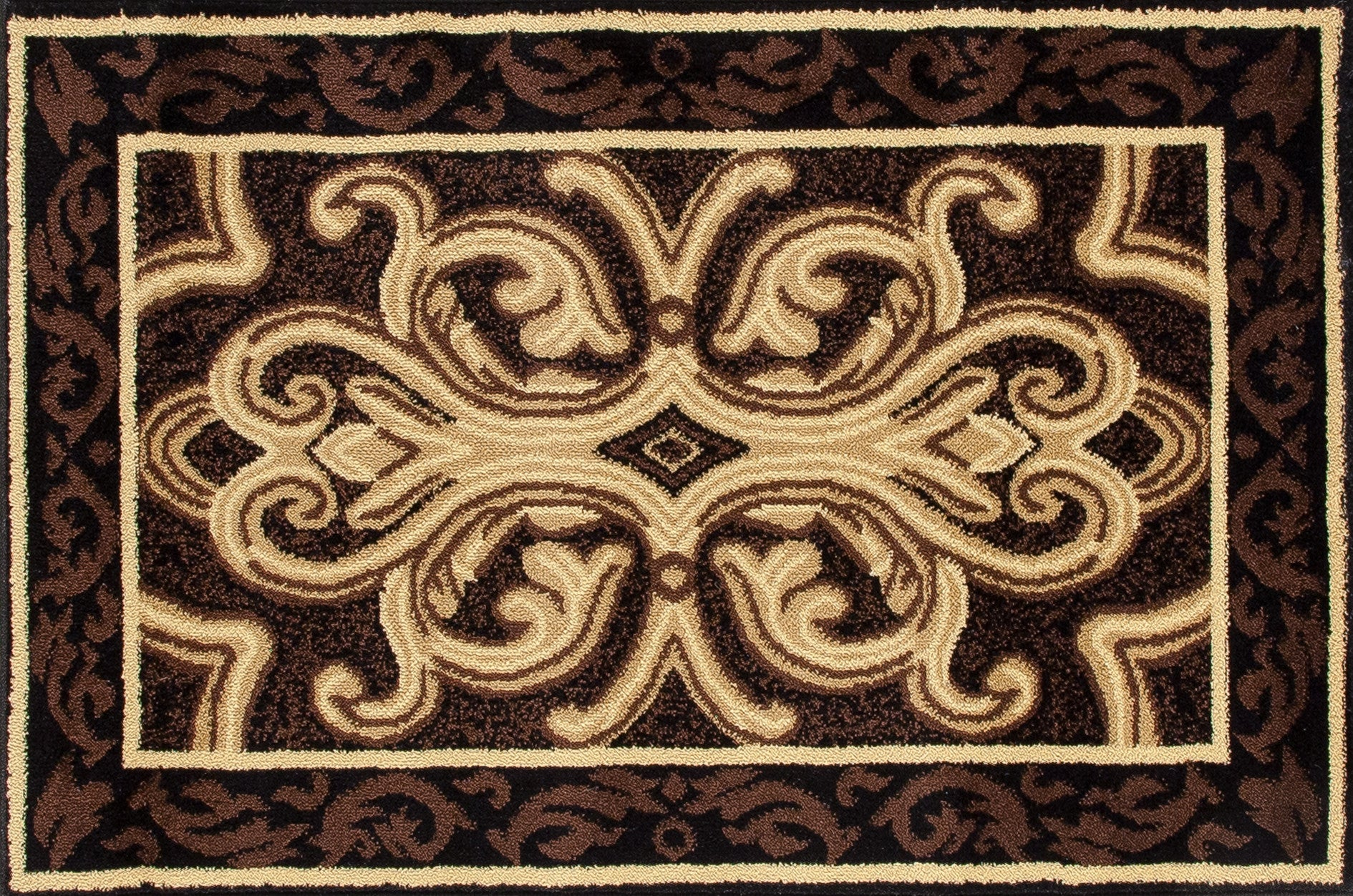 Art Carpet Hearth 2804 Brown/Black Area Rug main image
