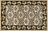 Art Carpet Hearth 2815 Black/Dark Beige Area Rug main image