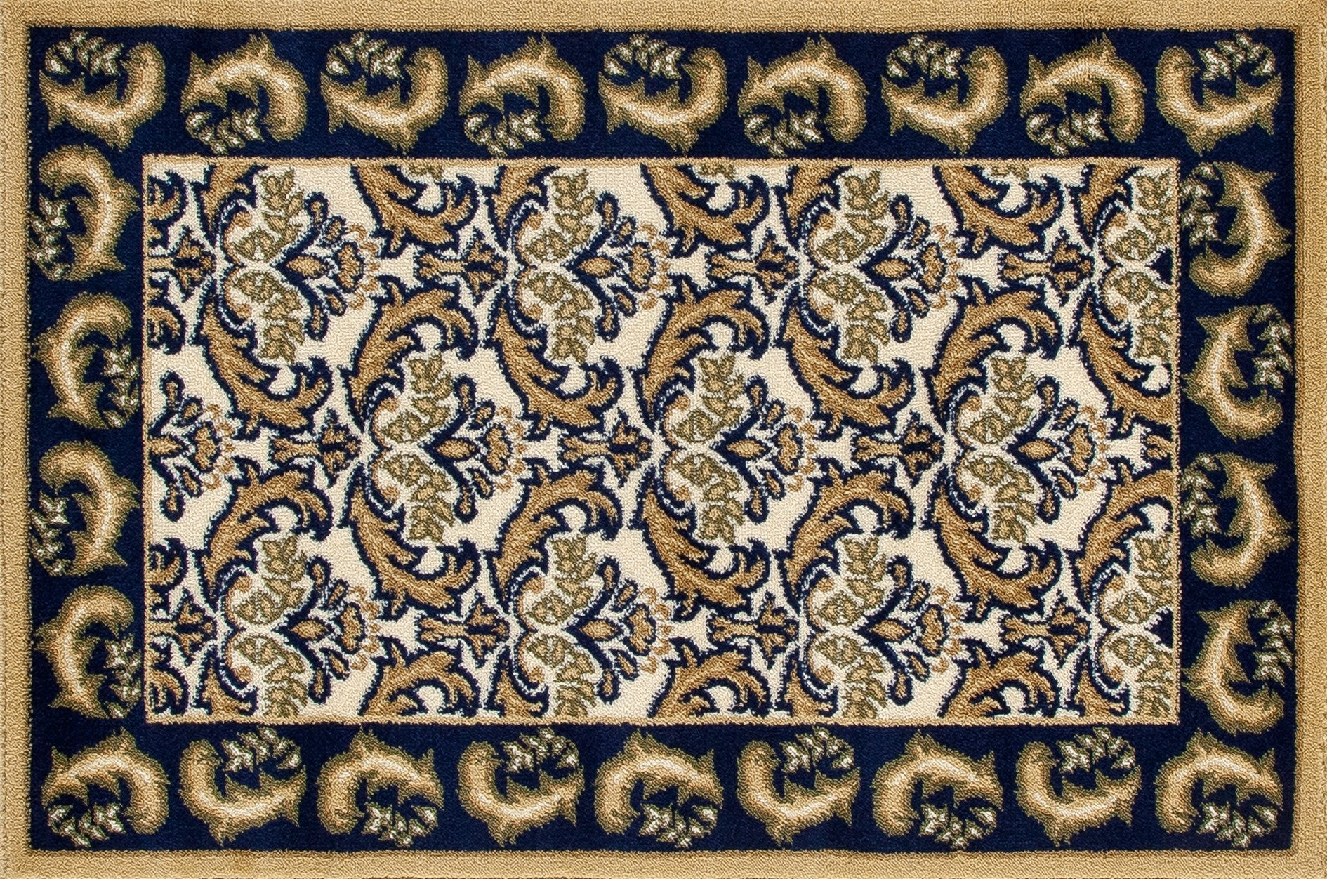 Art Carpet Hearth 2815 Navy/Dark Beige Area Rug main image