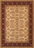 Couristan Anatolia Antique Herati Cream/Red Area Rug