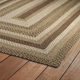 Kaleen Bimini 10 Mocha Area Rug Close-up Shot