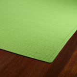 Kaleen Bikini 20 Lime Green Area Rug Close-up Shot