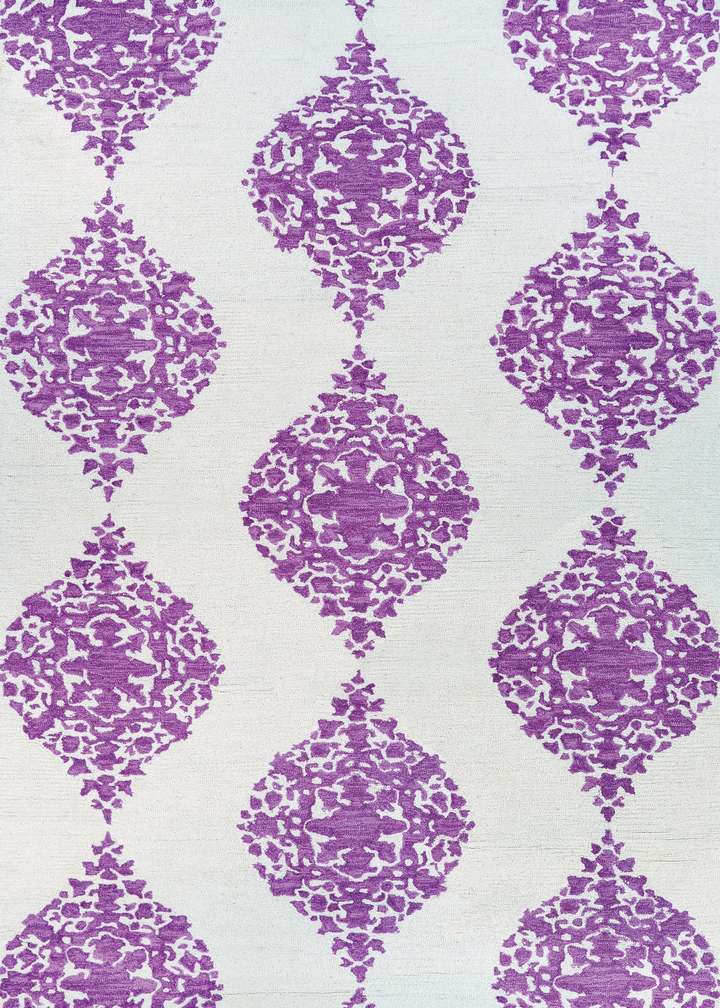 Couristan Crawford Ornament Magenta Area Rug main image