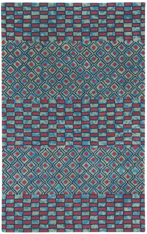 Capel Charisma Mosaic 3121 Red 525 Area Rug main image