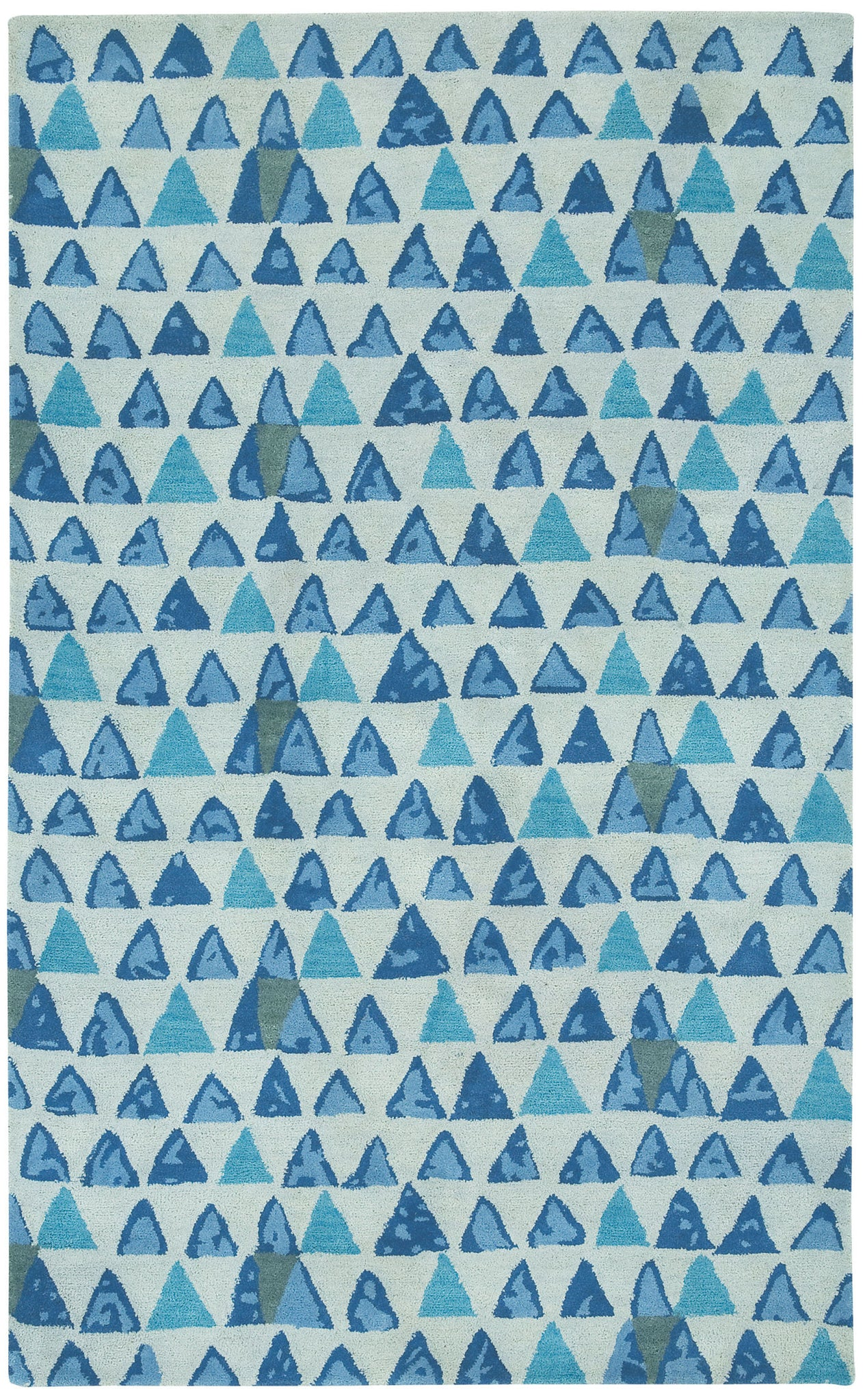 Capel Charisma Pyramid 3123 Blue 425 Area Rug main image