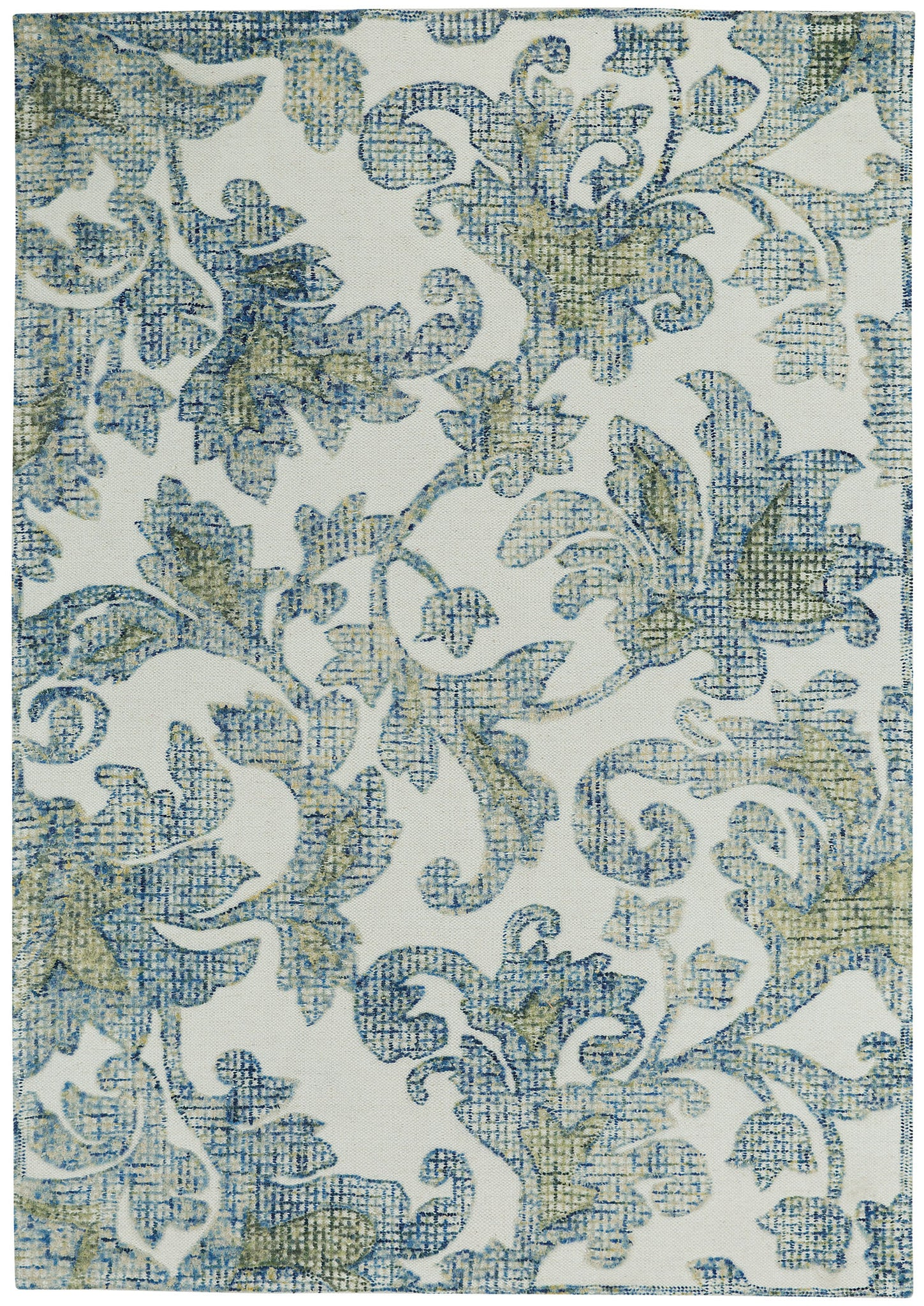 Capel Balfour 3150 Cream Blue 640 Area Rug main image
