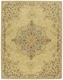 Capel Smyrna Medallion 3156 Yellow 100 Area Rug main image