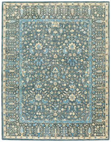 Capel Smyrna Persian Cedars 3157 Blue 400 Area Rug main image
