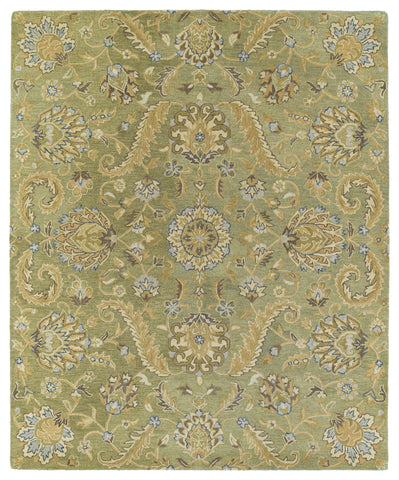 Kaleen Helena Virgil-05 Green Area Rug main image