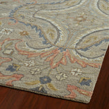 Kaleen Helena 3206-27 Taupe Area Rug Close-up Shot