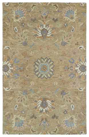 Kaleen Helena 3207-82 Light Brown Area Rug main image