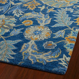 Kaleen Helena 3212-17 Blue Area Rug Close-up Shot