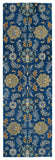 Kaleen Helena 3212-17 Blue Area Rug Runner Shot