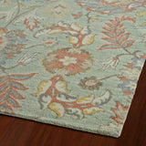 Kaleen Helena 3212-88 Mint Area Rug Close-up Shot